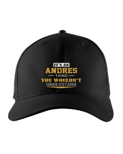 ANDRES - Thing You Wouldn't Understand Embroidered Hat front