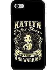PRINCESS AND WARRIOR - Katlyn Phone Case thumbnail