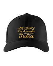 Julia - Im awesome Embroidered Hat front