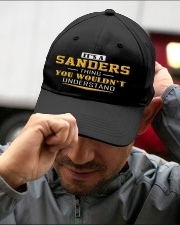 SANDERS - Thing You Wouldnt Understand Embroidered Hat garment-embroidery-hat-lifestyle-01