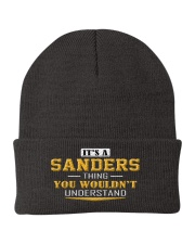 SANDERS - Thing You Wouldnt Understand Knit Beanie thumbnail