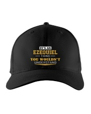 EZEQUIEL - THING YOU WOULDNT UNDERSTAND Embroidered Hat front