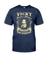 PRINCESS AND WARRIOR - vicky Classic T-Shirt thumbnail