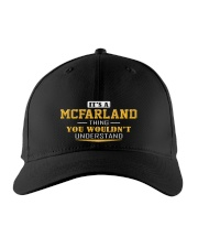 MCFARLAND - Thing You Wouldnt Understand Embroidered Hat front