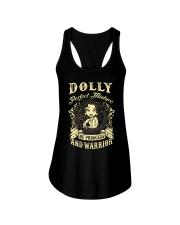 PRINCESS AND WARRIOR - Dolly Ladies Flowy Tank thumbnail