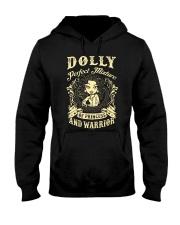PRINCESS AND WARRIOR - Dolly Hooded Sweatshirt thumbnail