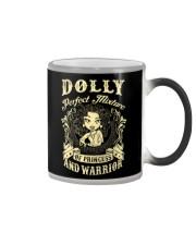 PRINCESS AND WARRIOR - Dolly Color Changing Mug thumbnail
