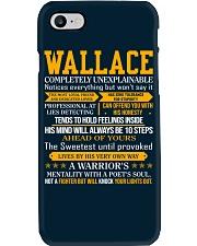 Wallace - Completely Unexplainable Phone Case thumbnail