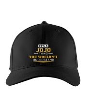 JOJO - THING YOU WOULDNT UNDERSTAND Embroidered Hat front