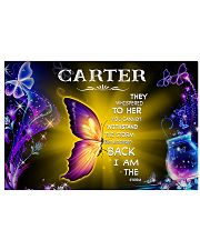 Carter - I am the storm P005 Horizontal Poster tile