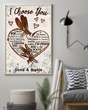 I CHOOSE YOU DRAGONFLY PERSONALIZED GIFT 24x36 Poster lifestyle-poster-1