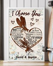 I CHOOSE YOU DRAGONFLY PERSONALIZED GIFT 24x36 Poster lifestyle-poster-4