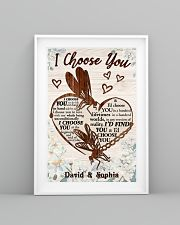 I CHOOSE YOU DRAGONFLY PERSONALIZED GIFT 24x36 Poster lifestyle-poster-5