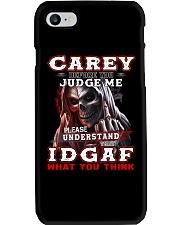 Carey - IDGAF WHAT YOU THINK M003 Phone Case thumbnail