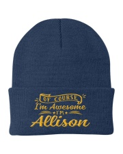 Allison - Im awesome Knit Beanie thumbnail