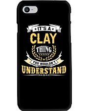 Clay - thing you wouldnt understand M002 Phone Case thumbnail