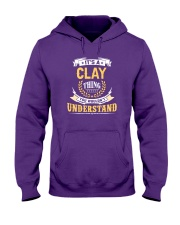 Clay - thing you wouldnt understand M002 Hooded Sweatshirt thumbnail