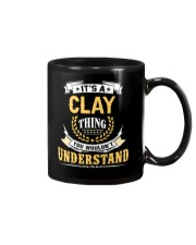 Clay - thing you wouldnt understand M002 Mug front