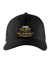 CLIFF - THING YOU WOULDNT UNDERSTAND Embroidered Hat front
