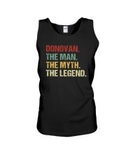 THE LEGEND - Donovan Unisex Tank thumbnail