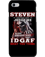 Steven - IDGAF WHAT YOU THINK M003 Phone Case thumbnail