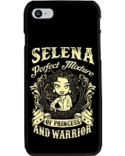 PRINCESS AND WARRIOR - Selena Phone Case tile