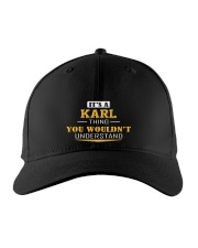 KARL - THING YOU WOULDNT UNDERSTAND Embroidered Hat front