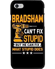 BRADSHAW - FIX WHAT STUPID DOES Phone Case thumbnail
