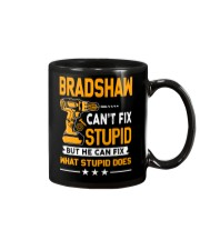 BRADSHAW - FIX WHAT STUPID DOES Mug thumbnail