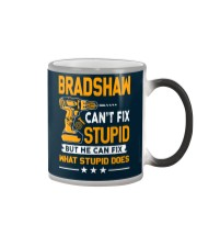 BRADSHAW - FIX WHAT STUPID DOES Color Changing Mug thumbnail