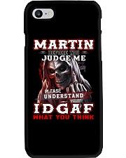 Martin - IDGAF WHAT YOU THINK M003 Phone Case thumbnail