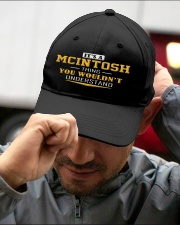 MCINTOSH - Thing You Wouldnt Understand Embroidered Hat garment-embroidery-hat-lifestyle-01