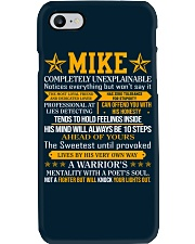 Mike - Completely Unexplainable Phone Case thumbnail