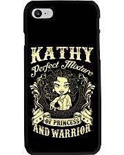 PRINCESS AND WARRIOR - Kathy Phone Case thumbnail