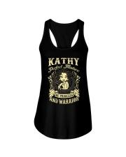 PRINCESS AND WARRIOR - Kathy Ladies Flowy Tank thumbnail