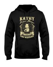 PRINCESS AND WARRIOR - Kathy Hooded Sweatshirt thumbnail