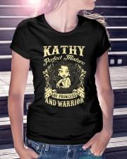PRINCESS AND WARRIOR - Kathy Ladies T-Shirt lifestyle-women-crewneck-front-7