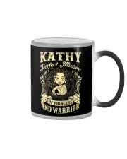 PRINCESS AND WARRIOR - Kathy Color Changing Mug thumbnail