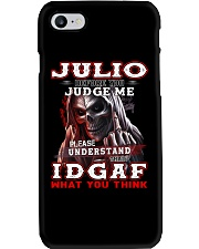 Julio - IDGAF WHAT YOU THINK M003 Phone Case thumbnail