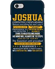 Joshua - Completely Unexplainable Phone Case thumbnail