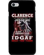 Clarence - IDGAF WHAT YOU THINK M003 Phone Case thumbnail