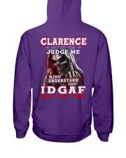 Clarence - IDGAF WHAT YOU THINK M003 Hooded Sweatshirt thumbnail