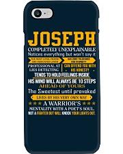 Joseph - Completely Unexplainable Phone Case thumbnail