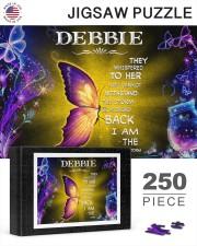 Debbie - I am the storm P005 250 Piece Puzzle (horizontal) aos-jigsaw-puzzle-250-pieces-horizontal-lifestyle-front-25