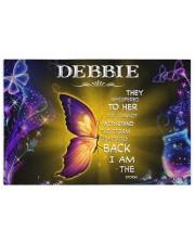 Debbie - I am the storm P005 250 Piece Puzzle (horizontal) front