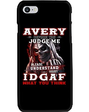 Avery - IDGAF WHAT YOU THINK  Phone Case thumbnail