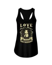PRINCESS AND WARRIOR - Love Ladies Flowy Tank thumbnail