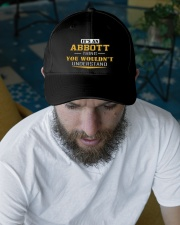 ABBOTT - Thing You Wouldnt Understand Embroidered Hat garment-embroidery-hat-lifestyle-06