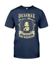 PRINCESS AND WARRIOR - Desiree Classic T-Shirt thumbnail