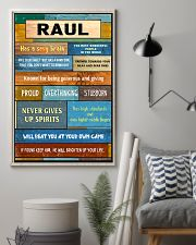 Raul - PT01 24x36 Poster lifestyle-poster-1